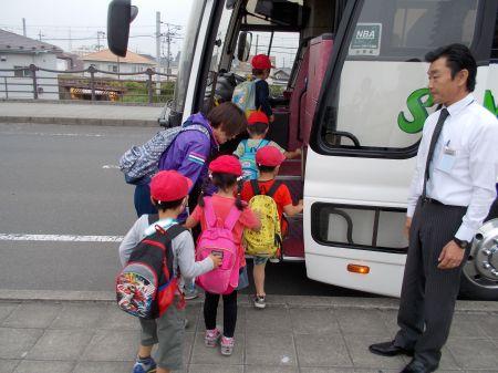 幼稚園の遠足のシーズンです。